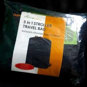 STROLLER TRAVEL BAG ( 3-in-1 ) Backpack Tote NEW